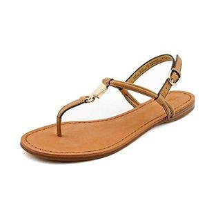 Coach Charleen Leather Thong Sandals Size 7